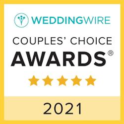 Winner - Couples Choice 2021 Wedding Wir