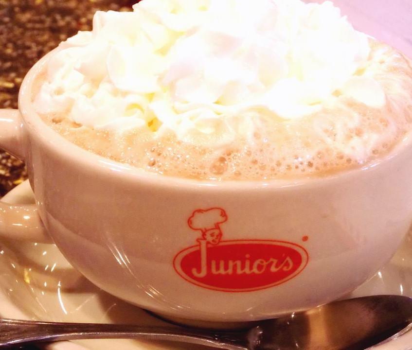 Juniors hot chocolate
