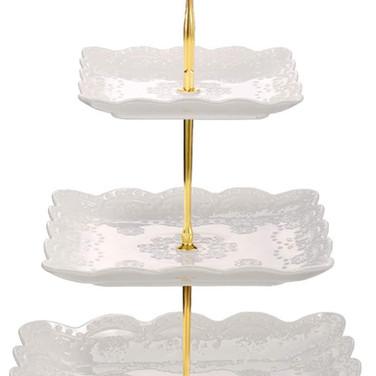 3 Tier Porcelain Cupcake_Dessert Stand