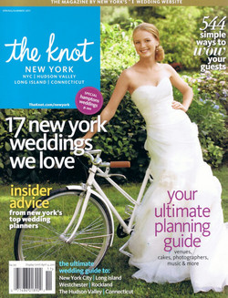 Featured in The Knot Magazine