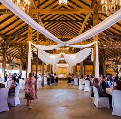 Reinhart's Barn Wedding