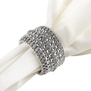 Napkin ring sparkle diamonds