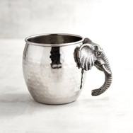 Stainless steel elephant mug