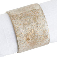 Napkin ring marble tan