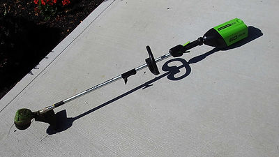 battery powered string trimmer