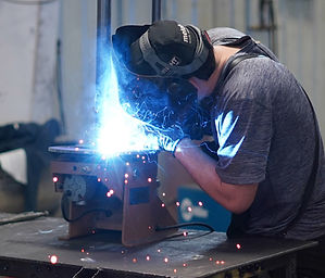 Amish welding human