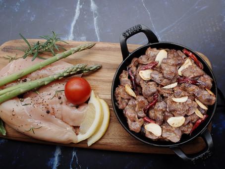 Stir- fried Garlic Chicken Gizzard  마늘근위볶음