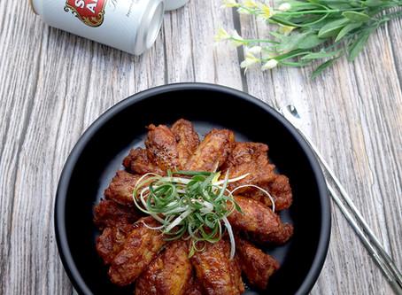 Seasoned Wings of Grilled Chicken -  직화양념날개