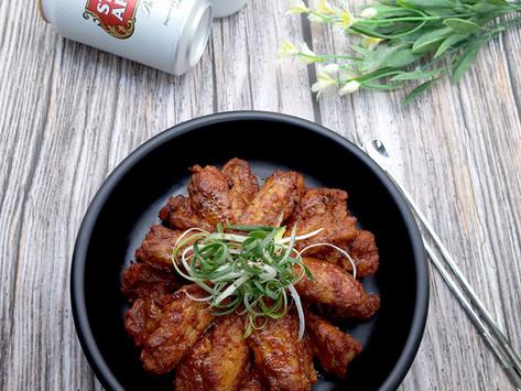 Seasoned Wings of Grilled Chicken  직화양념날개