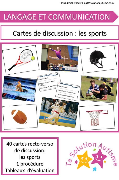 Cartes de discussion: Les sports