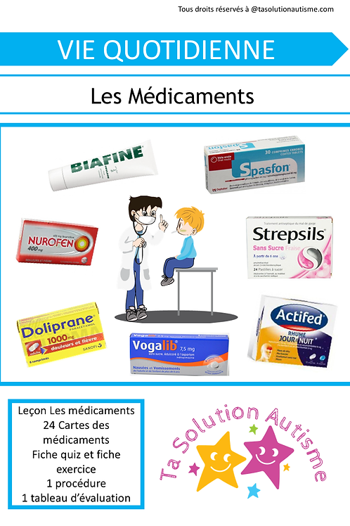 Les médicaments