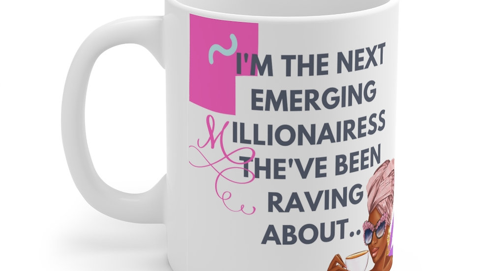 Next Millionairess Ceramic Mug 11oz   Boss Babe Cup