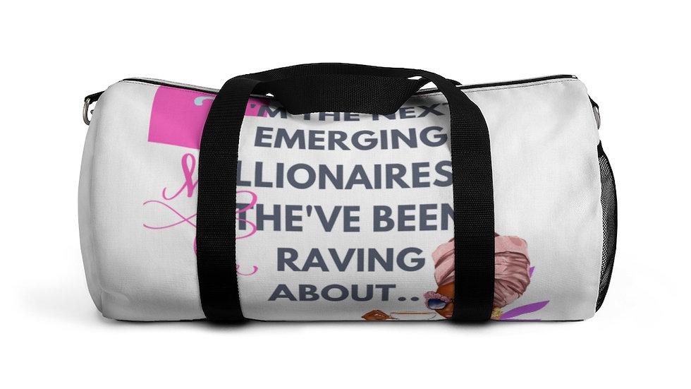 Next Millionairess Duffel Bag   Boss Babe Gym Bag   Boss Babe Overnight Bag