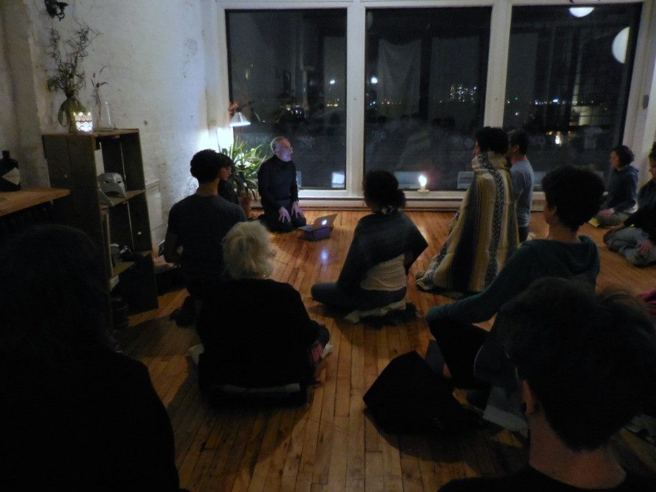Sangha Without Borders meditation class