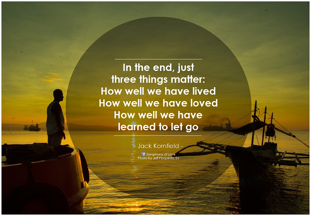 Jack Kornfield - Learn to let go