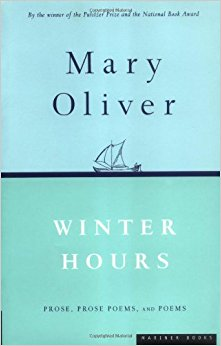 Winter Hours - Mary Oliver