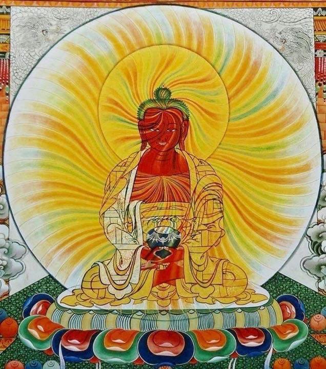 Meditating Buddha - Source: Unknown