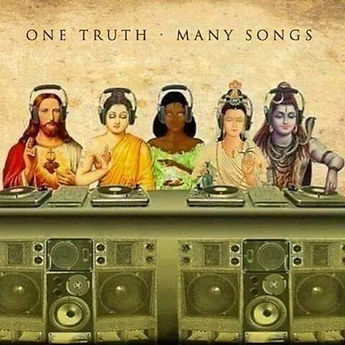 Music knows no religion