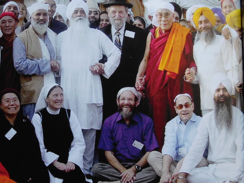 Dalai Lama and students