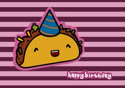 birthday taco