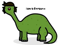 i am a dinosaur