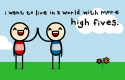 more high fives