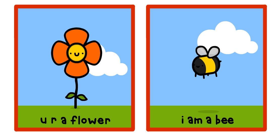u r a flower