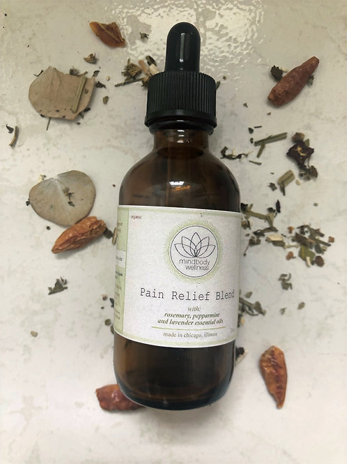 Pain and Inflammation Relief Blend