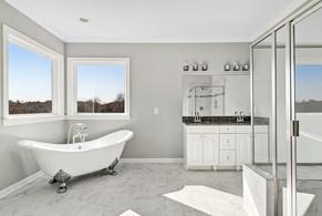 Master Bath: Rosewood