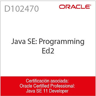 D102470   Java SE: Programming I Ed2