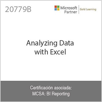 20779B | Analyzing Data with Excel