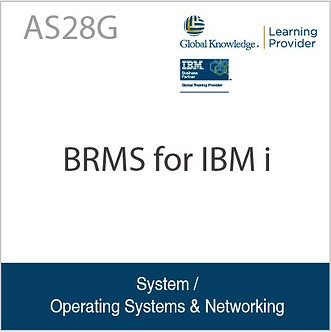 AS28G | BRMS for IBM i