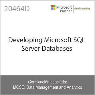 20464D | Developing Microsoft SQL Server 2014 Databases