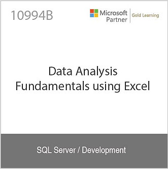 10994B | Data Analysis Fundamentals using Excel