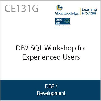 CE131G | DB2 SQL Workshop for Experienced Users