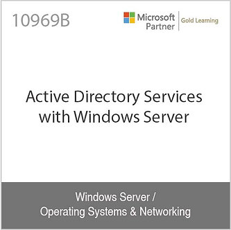 10969B | Active Directory Services with Windows Server