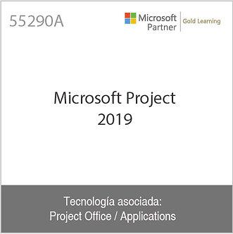 55290A | Microsoft Project 2019