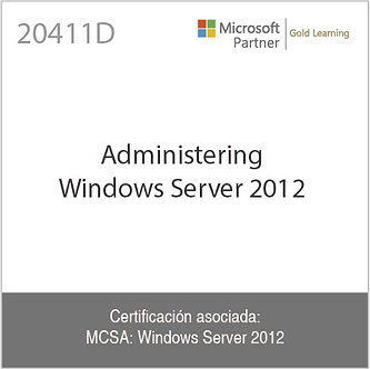 20411D | Administering Windows Server 2012