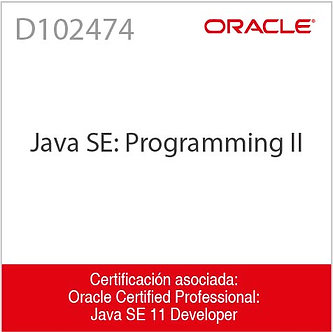 D102474 | Java SE: Programming II