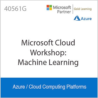 40561G | Microsoft Cloud Workshop: Machine Learning