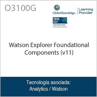 O3100G | Watson Explorer Foundational Components (v11)