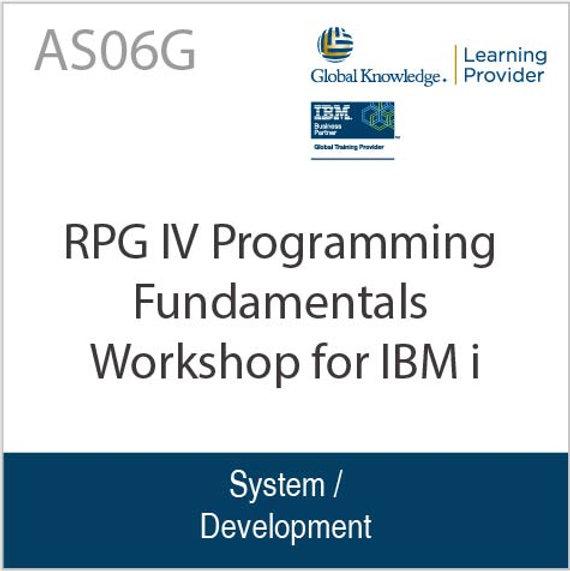 RPG IV Programming Fundamentals Workshop for IBM i