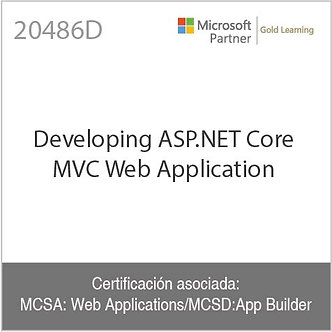 20486D | Developing ASP.NET Core MVC Web Application