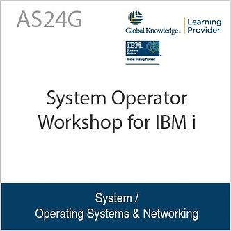AS24G | System Operator Workshop for IBM i