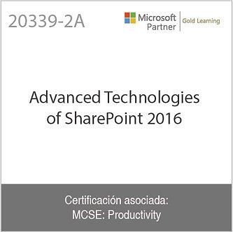 20339-2A   Advanced Technologies of SharePoint 2016