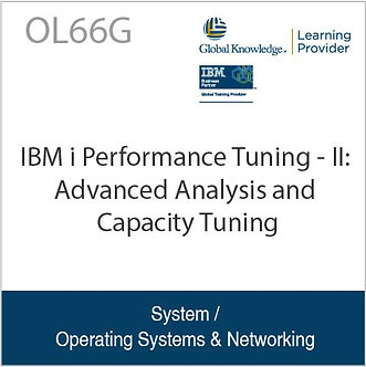 OL66G | IBM i Performance Tuning - II: Advanced Analysis and Capacity Tuning