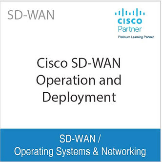 SD-WAN | Cisco SD-WAN Operation and Deployment
