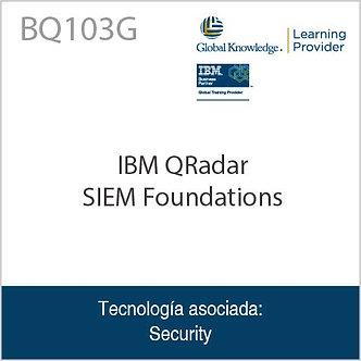 BQ103G | IBM QRadar SIEM Foundations