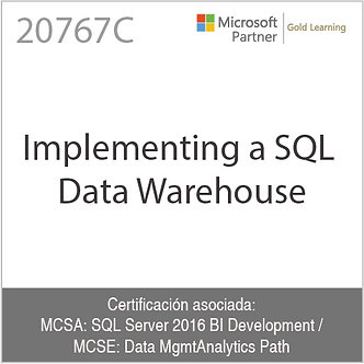 20767C | Implementing a SQL Data Warehouse