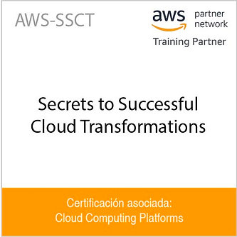 AWS-SSCT   Secrets to Successful Cloud Transformations